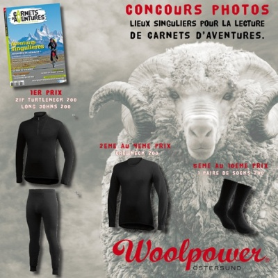 Concours Photo Woolpower - Carnets d'Aventures