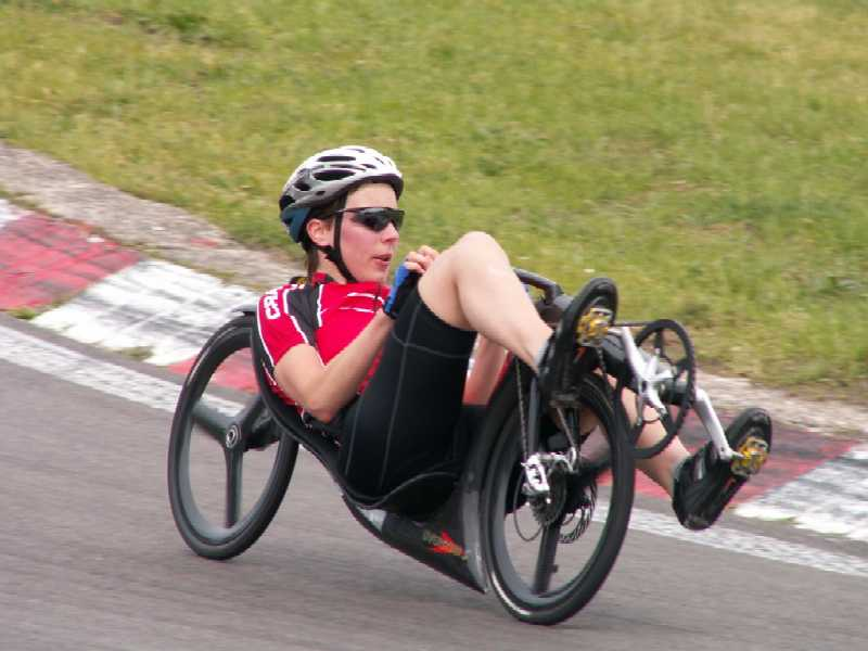Barbara Buatois is the world's fastest female cyclist