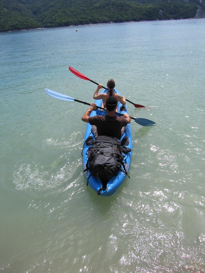Kayak de mer - Kayak de mer gonflable ...