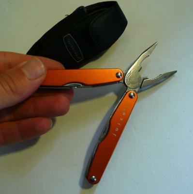 Leatherman Juice S2 ouvert