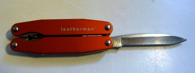 Leatherman Juice S2 : lame