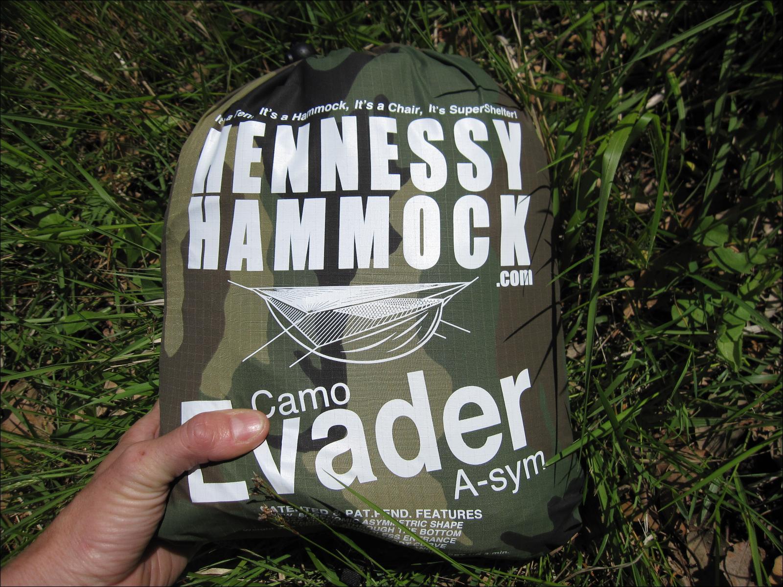 Hamac Hennessy Hammocks Camo Evader Asym
