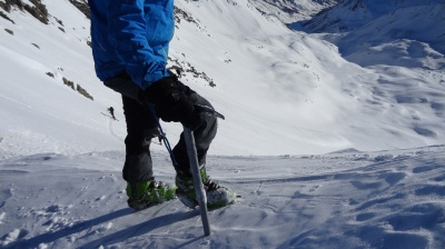 Test crampons Nanotech Tour en diverses conditions de neige