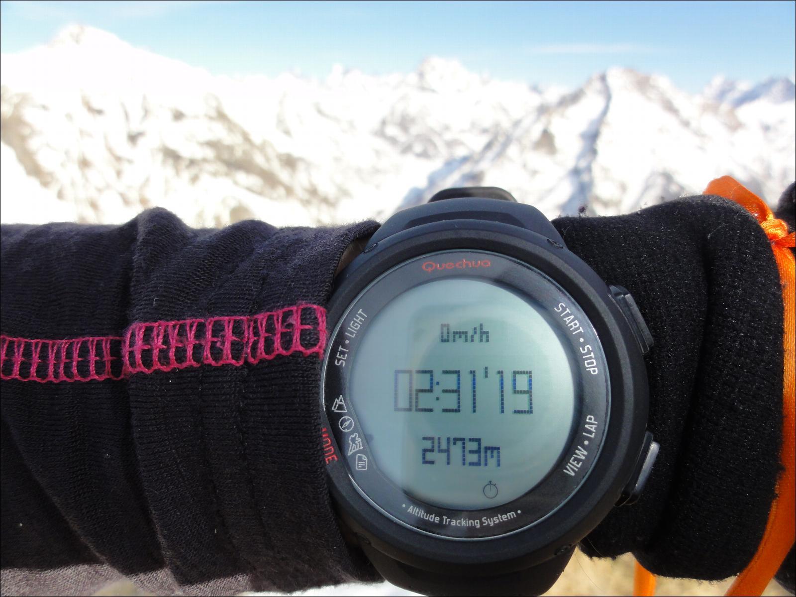 bas prix 12b05 ae422 Montre altimètre W Quechua 700