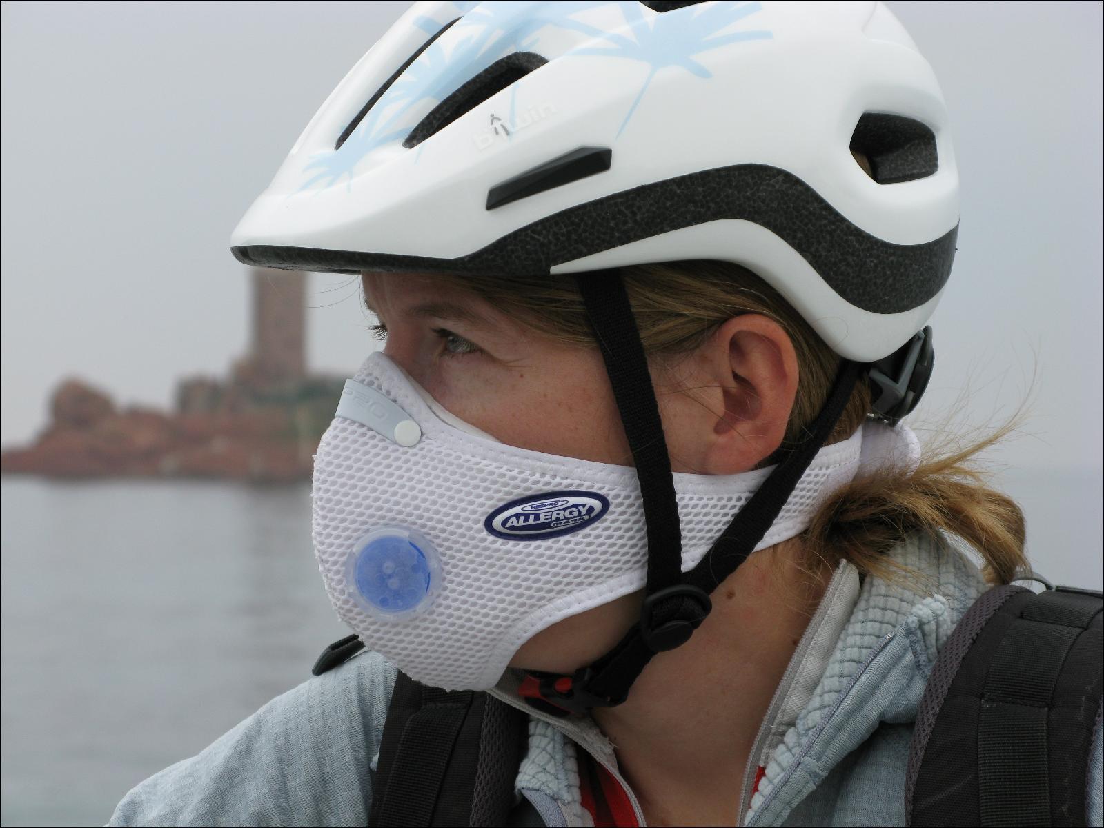 masque antipollution pour le v lo respro. Black Bedroom Furniture Sets. Home Design Ideas
