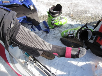 Chaussettes Mizuno Breath thermo heavy ski