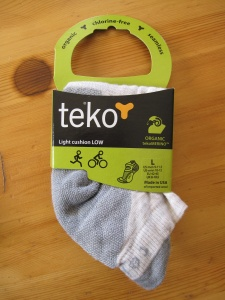 Chaussettes Teko en laine Mérinos Light Chushion low