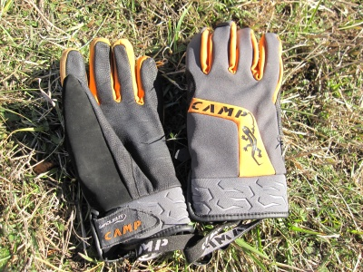 Gants alpinsme coupe-vent Camp Geko light