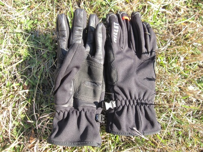 Gants alpinisme coupe-vent Millet Ice wds