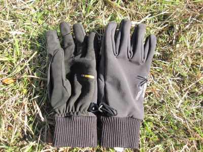 Gants alpinisme coupe-vent Salewa Aquilis