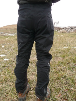 Surpantalon imper-respirant Stretched Reality Pant de Vaude