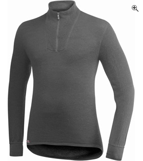 Woolpower Zip Turtleneck 200