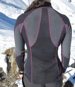 Mizuno Breath Thermo, haut manches longues Virtual Body col zippé