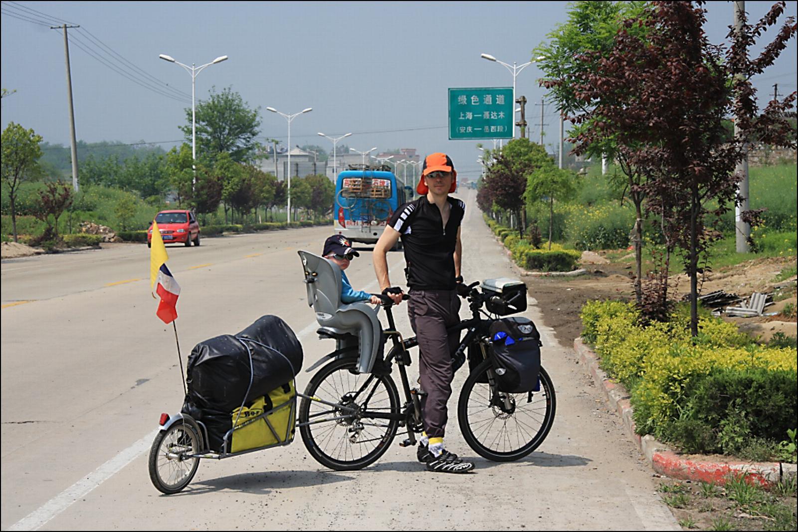 Route de la Soie à vélo en famille