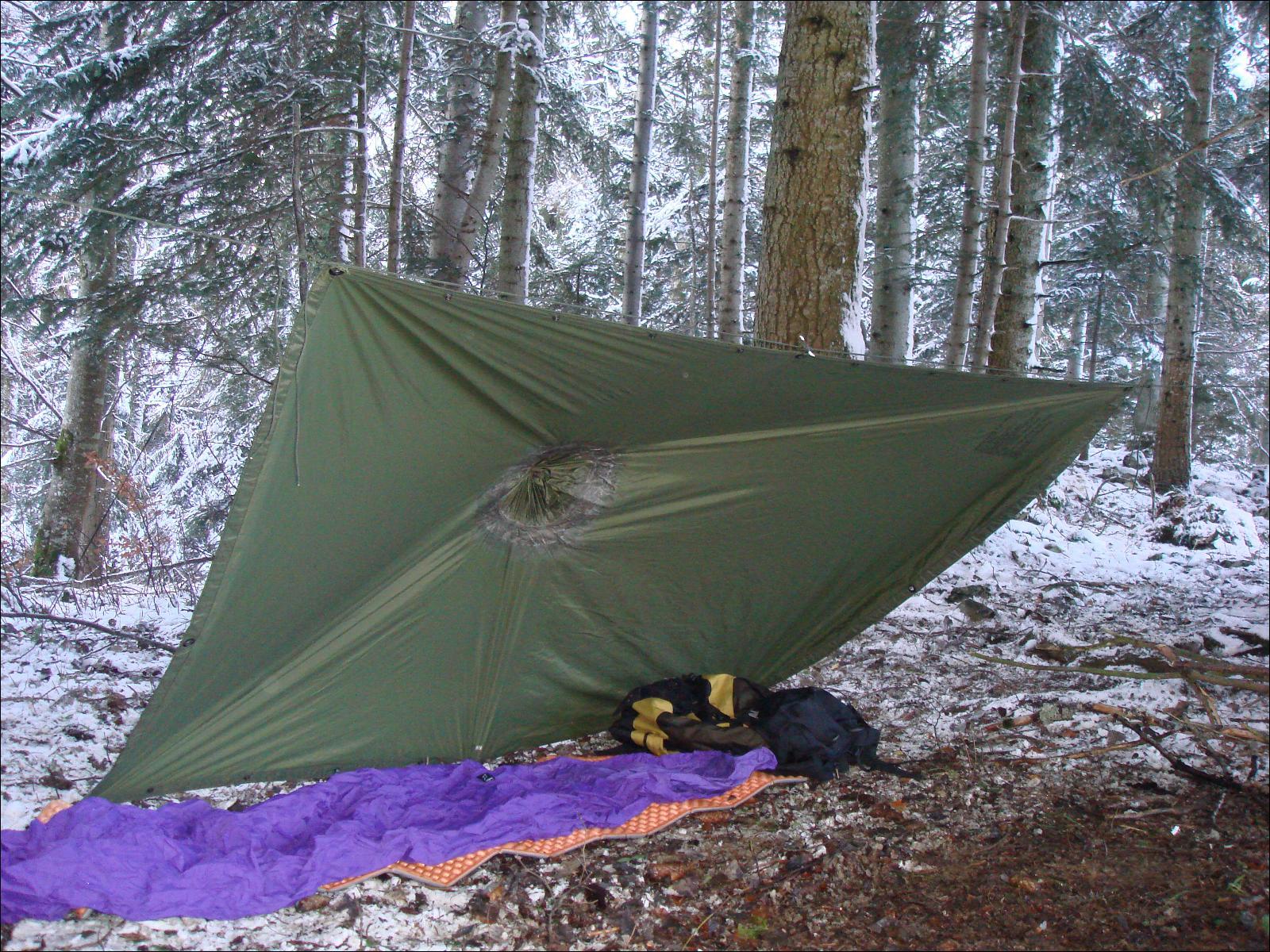 Abri bivouac ou tarp for Un abri ou un abris