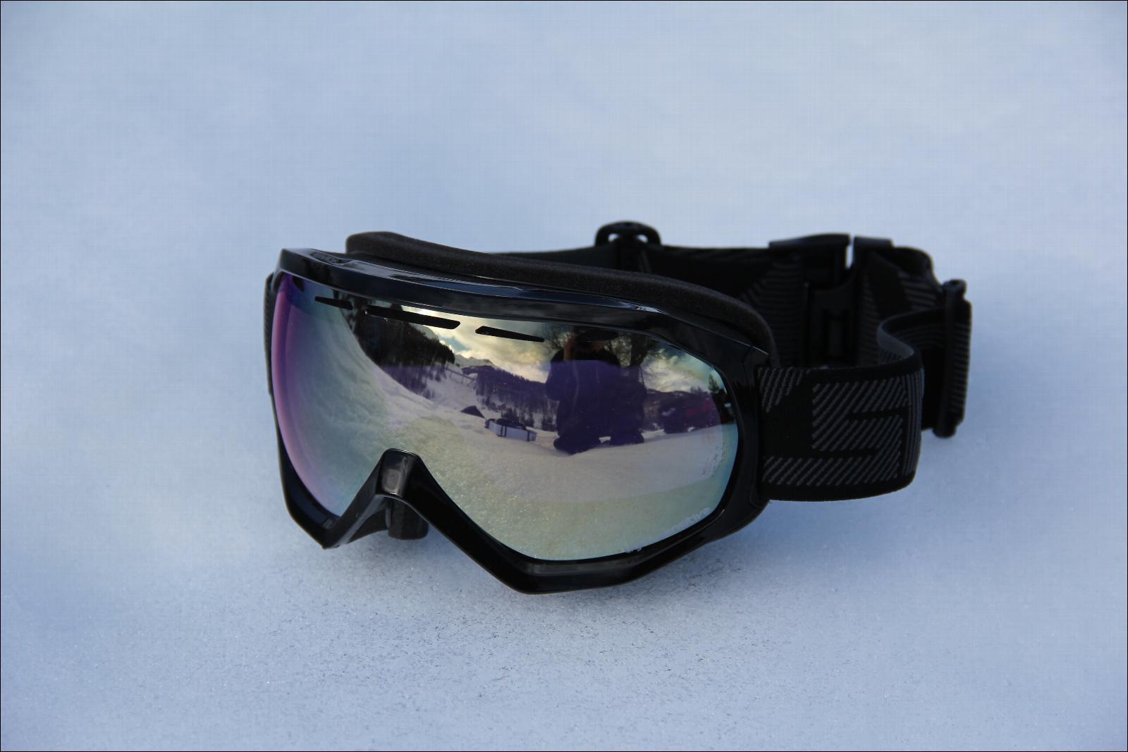 masque de ski scott notice otg black ecran light sensitive bronze chrome. Black Bedroom Furniture Sets. Home Design Ideas