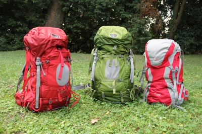 Test de sacs à dos grand volume 60L-70L