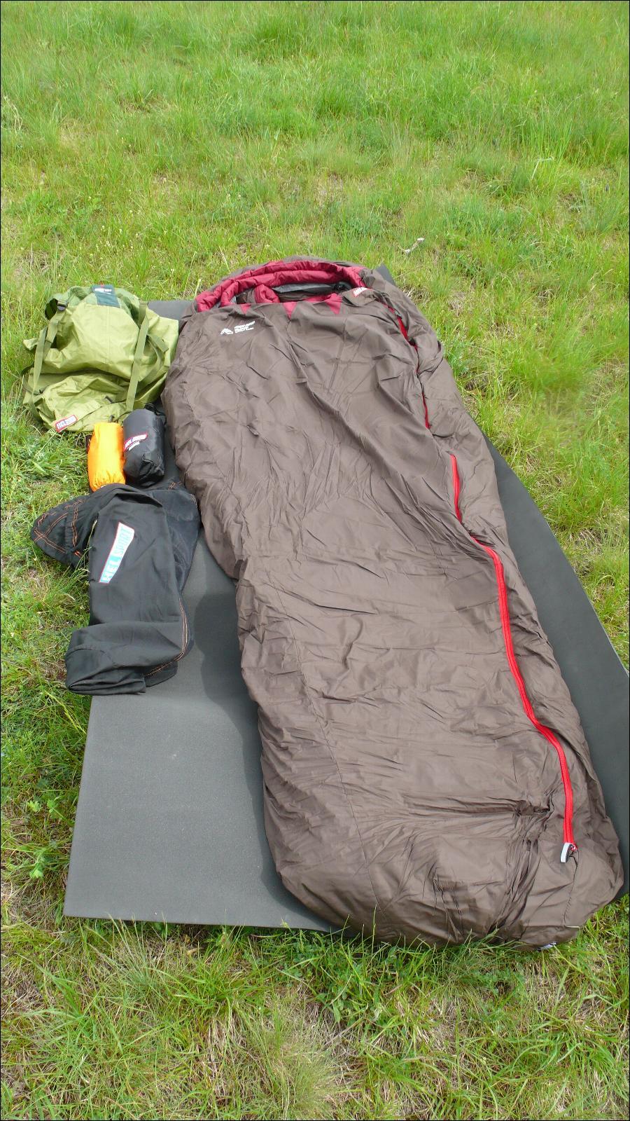 Sac couchage exp dition grand froid helsport kongsfjorden for Housse de compression sac de couchage