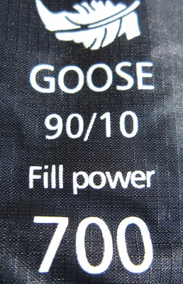 Fill power et labels du duvet
