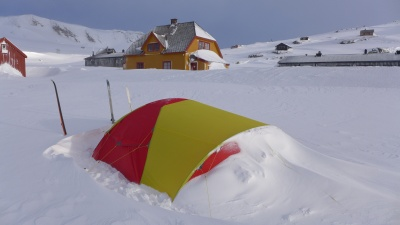 Test de la tente Helsport Svalbard Camp 5.