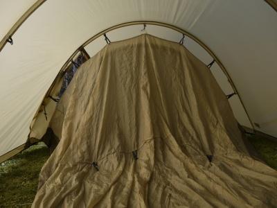 Tente fjallraven abisko endurance 4 for Tente deux chambres