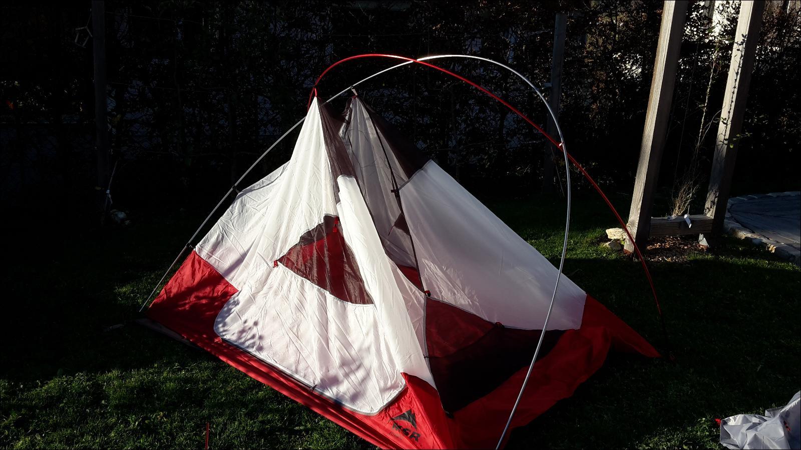 Tente msr elixir 3 for Tente deux chambres