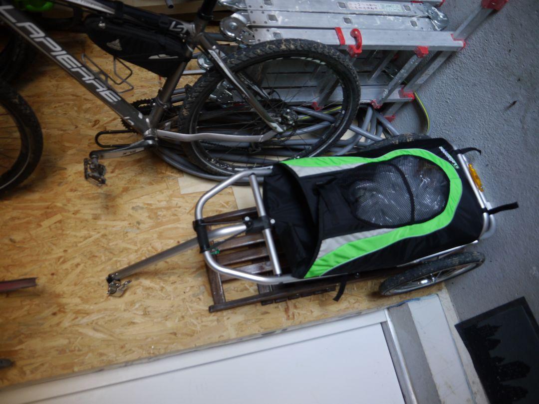 Remorque à vélo deux roues La Galoppe