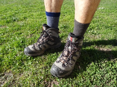 A gauche : M3RINO.XC Lightweight - A droite : SIN3RGI Light Hiking
