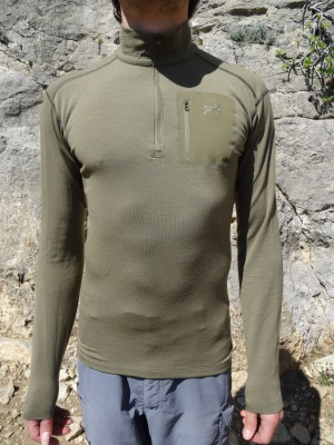 Arc'teryx Rho LTW Zip Neck