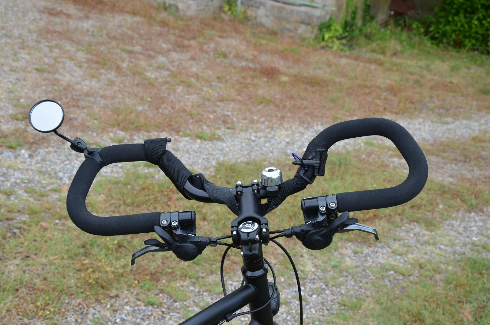 Guidon de vélo vtc
