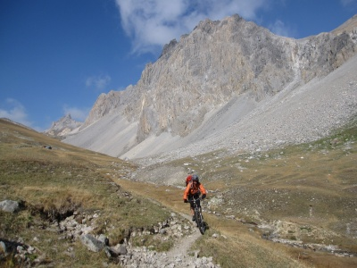 Le grand vallon, descente ultra majeure sur Névache !