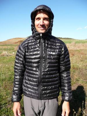 Doudoune Rab Microlight Alpine jacket