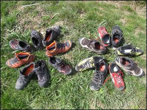 Comparatif chaussures tige basse gore-tex