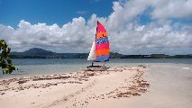 Raid catamaran Hobie Cat 14 Martinique