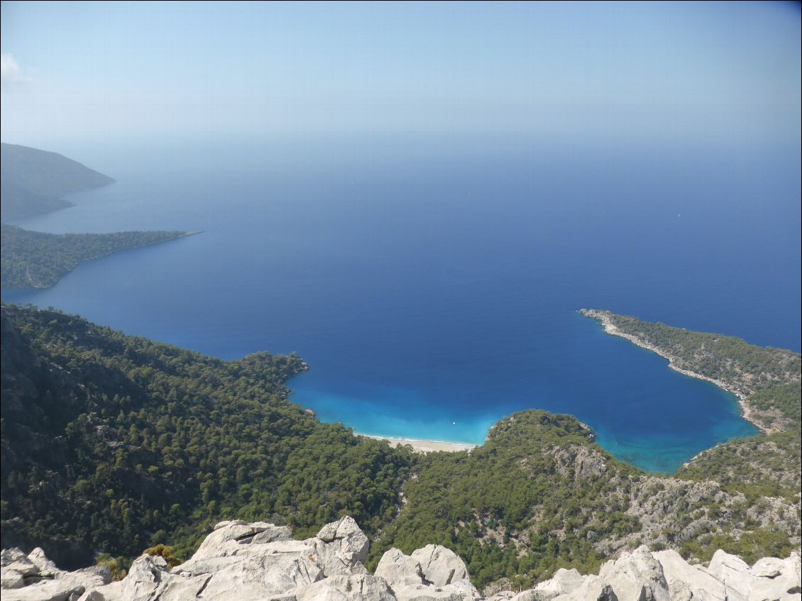 750m plus bas Kabak beach