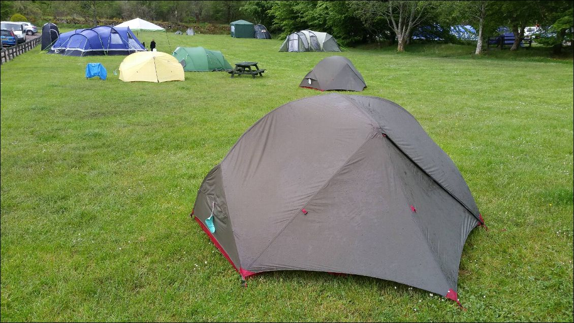 Fort William, le camping....