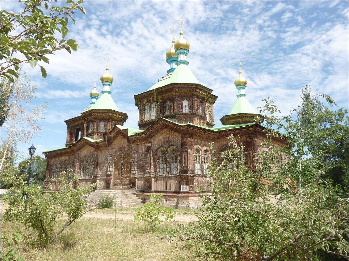 Karakol - l'église orthodoxe