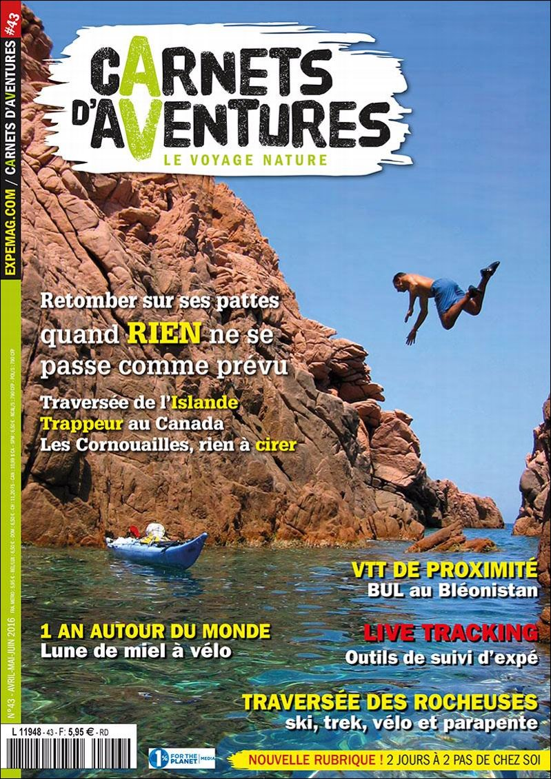 Edito Carnets d'Aventures #43