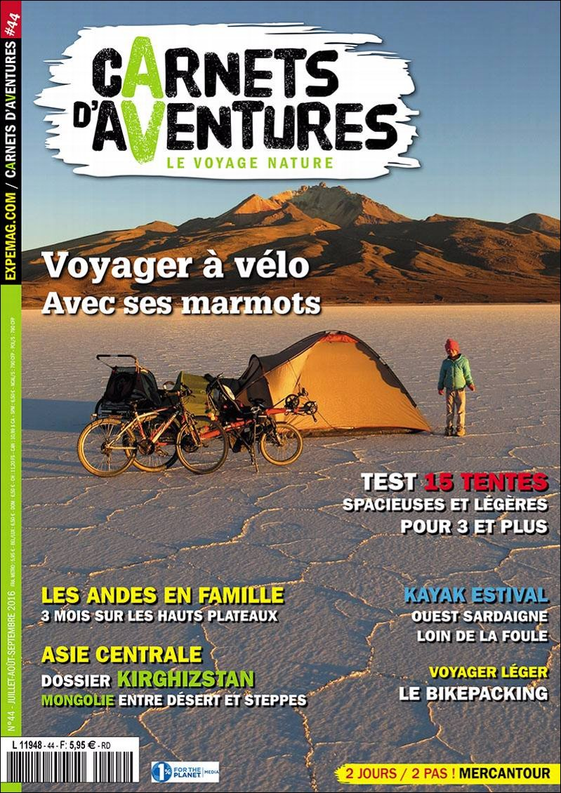 Edito Carnets d'Aventures #44