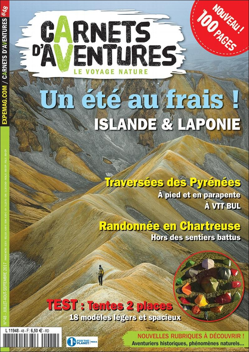 Edito Carnets d'Aventures #48