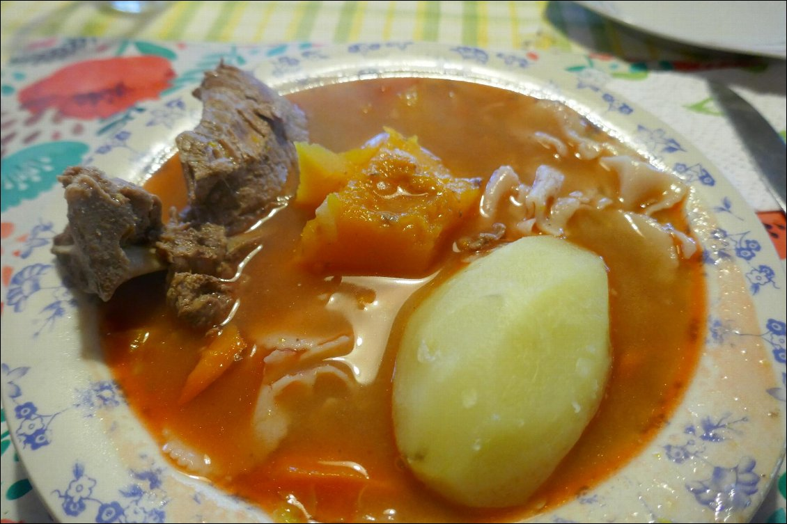 Le ragout traditionnel