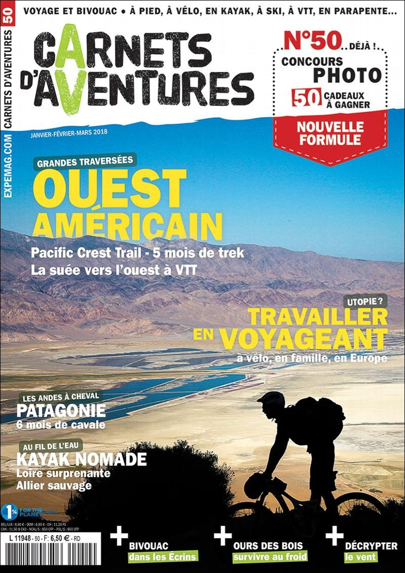 Edito Carnets d'Aventures #50