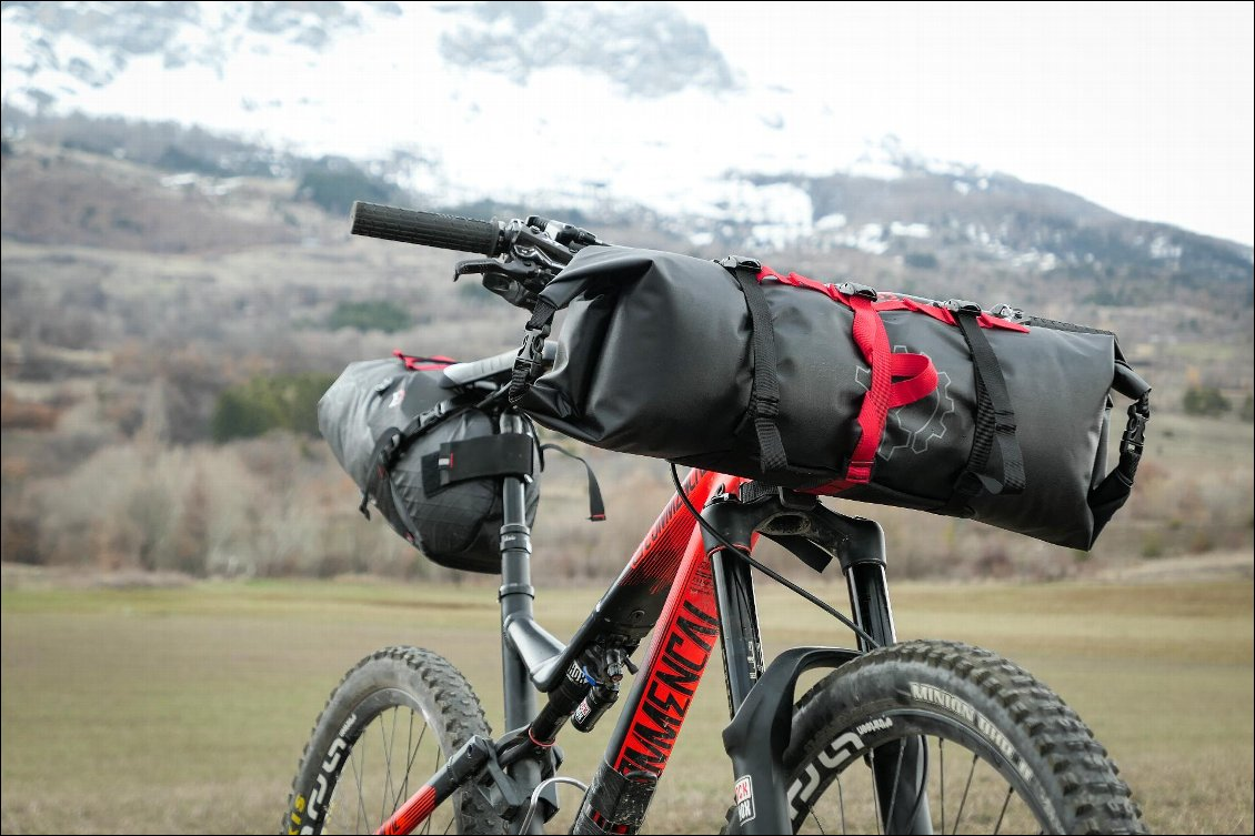 Tests de sacoches de bikepacking