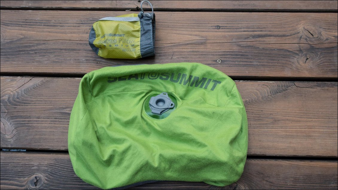 Oreiller Sea To Summit Aeros Pillow Premium et UltraLight