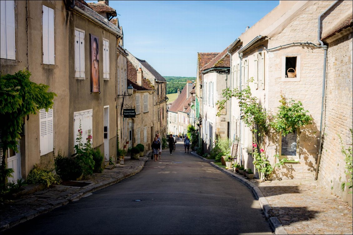 Jour 2 - De Vézelay à Avallon