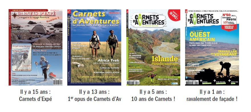 Edito Carnets d'Aventures #54