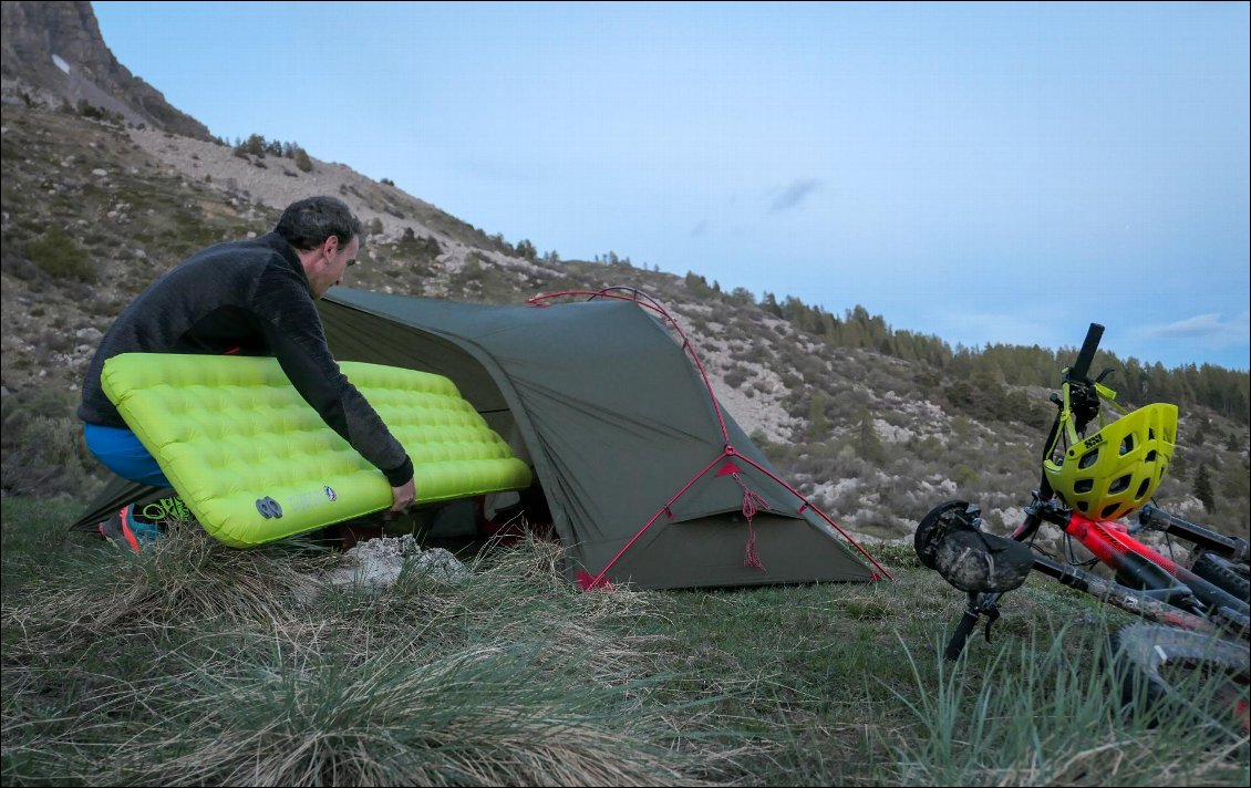 Test Big Agnes Insulated Q Core Slx