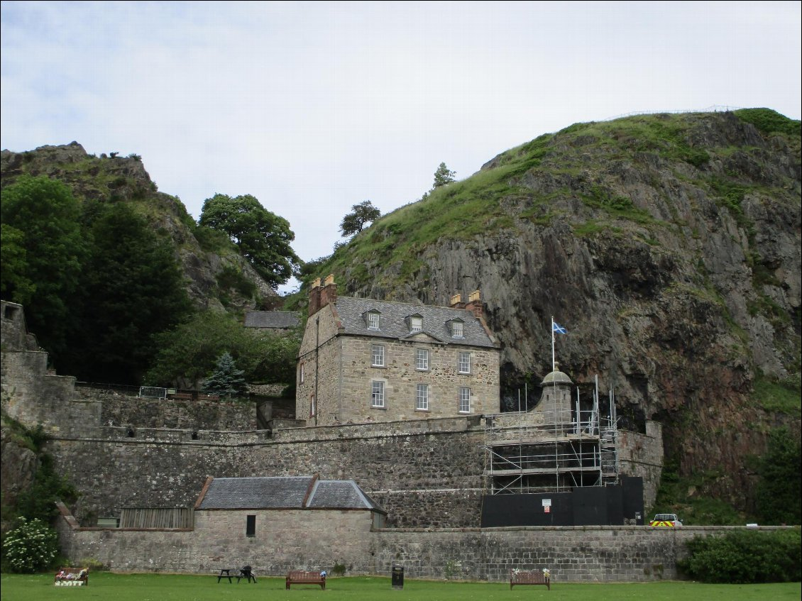 Le fort de Dumbarton.
