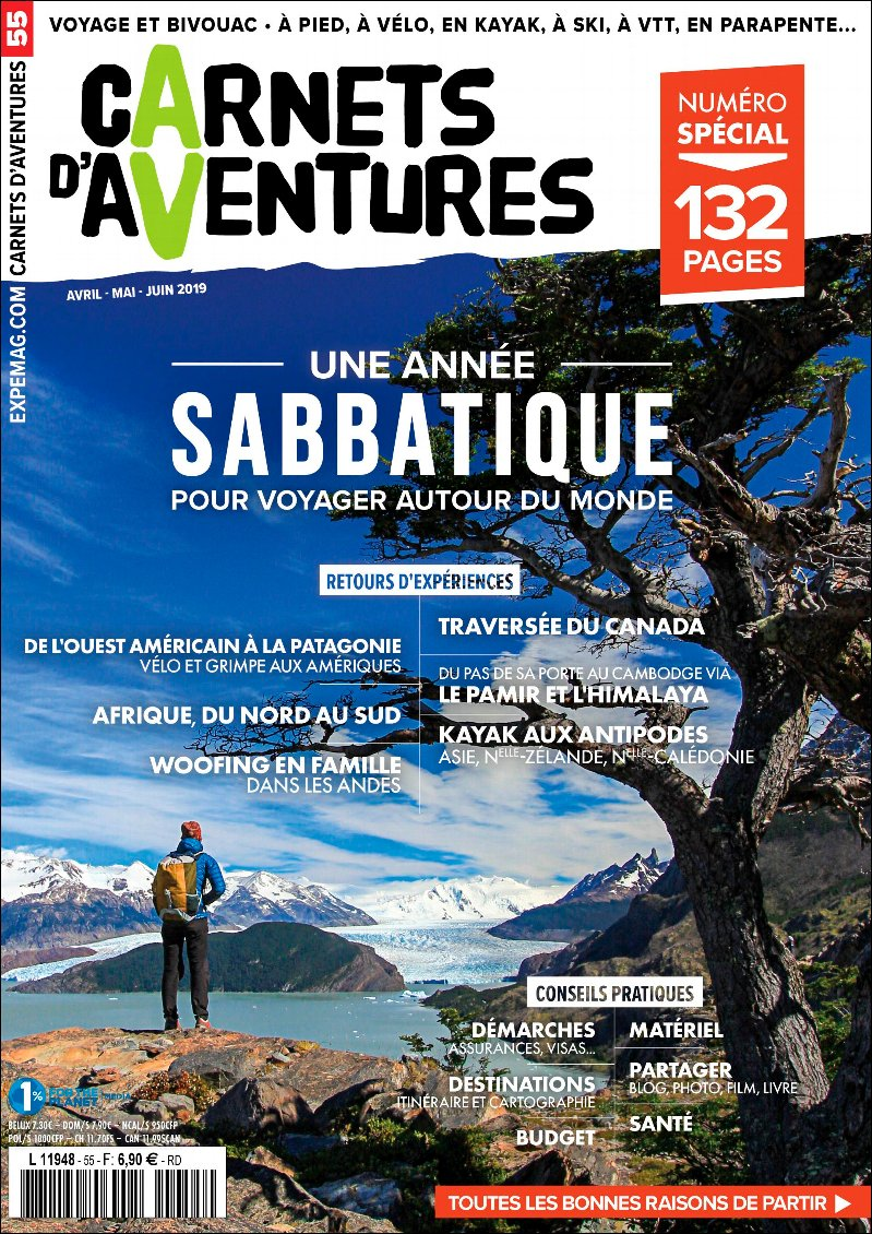 Edito Carnets d'Aventures #55