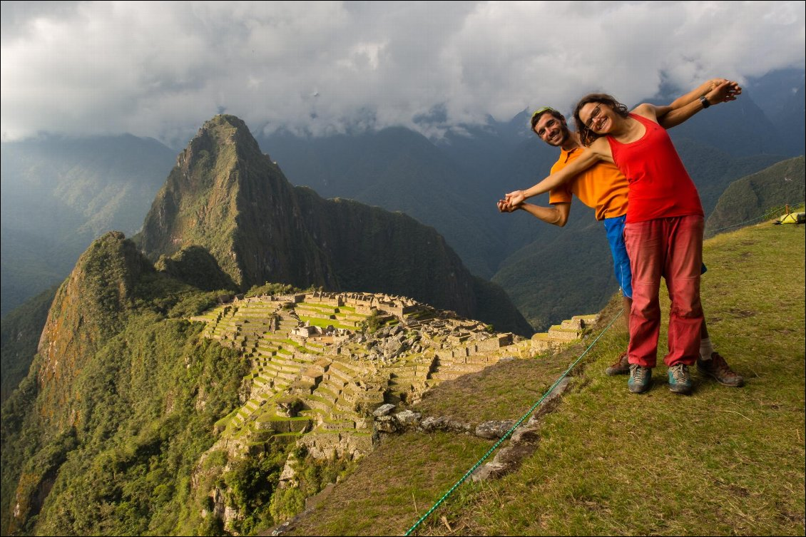 Machu Picchu 7 mois en couple le long de la cordillère Photo Léo Héry